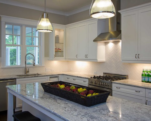 Glacier White Granite Ideas, Pictures, Remodel and Decor