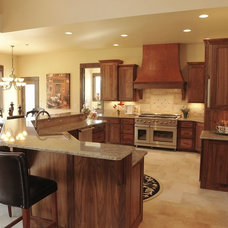 Traditional Kitchen by PJL Custom Homes