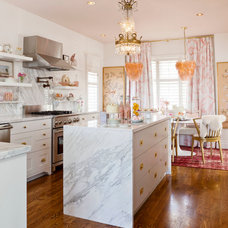 Eclectic Kitchen by Meredith Heron Design