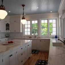 Eclectic Kitchen by Laura Marr Baur Interior Design, llc