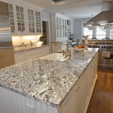 Contemporary Kitchen by Select Stone
