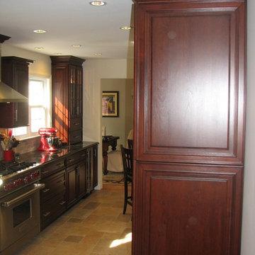 Plainview Burgundy Kitchen
