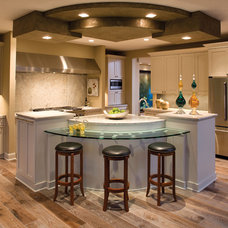 Contemporary Kitchen by House Plans and More