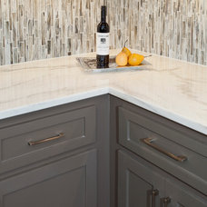 Transitional Kitchen by Nicole Arnold Interiors