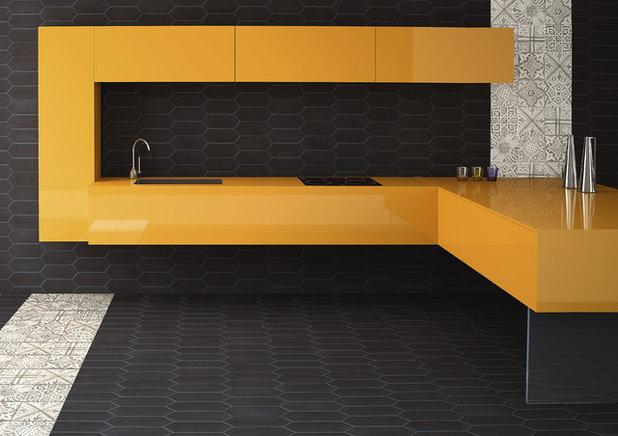 Contemporaneo Cucina by Ergon Engineered Stone, HorusArt & Viva Ceramica