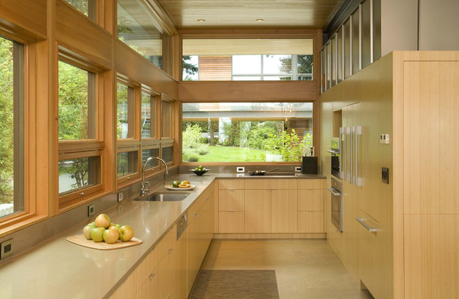 Contemporary Kitchen by Coates Design Architects Seattle