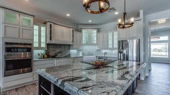 Platinum White Granite Kitchen