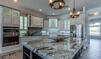 Platinum White Granite Kitchen