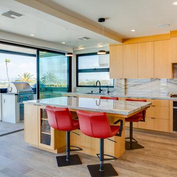 Playa del Rey Coastal Home Kitchen