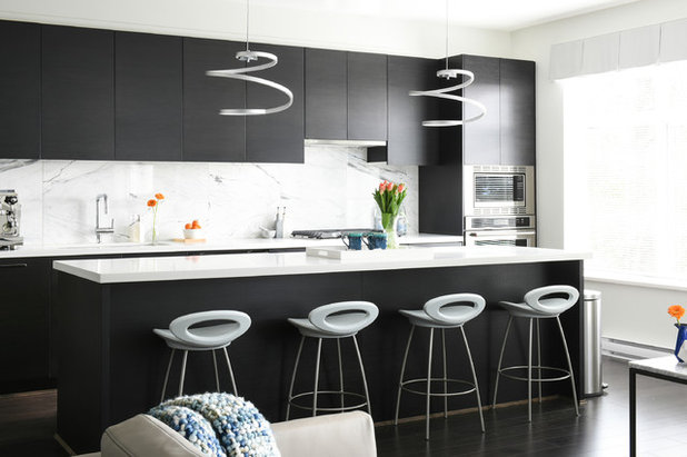 Contemporary Kitchen by Simply Home Decorating