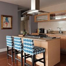 Transitional Kitchen by Katy Sullivan Designs