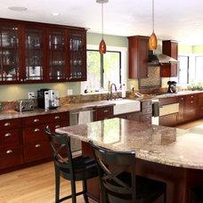 Craftsman Kitchen by Kern's Construction