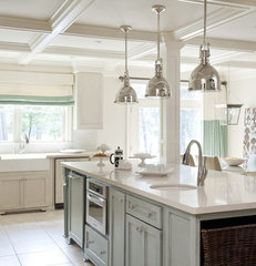 contemporary kitchen by Tobi Fairley Interior Design