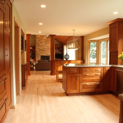 contemporary kitchen by Knight Construction Design | Chanhassen, Minnesota
