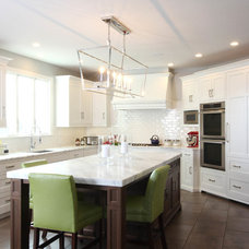 Transitional Kitchen by Bluebell Kitchens