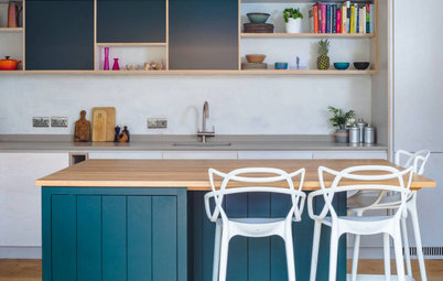 Kitchen Tour: A Stylish Plywood Design Transforms a Cottage