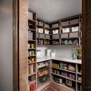 Pocket Door Pantry With A Little Extra