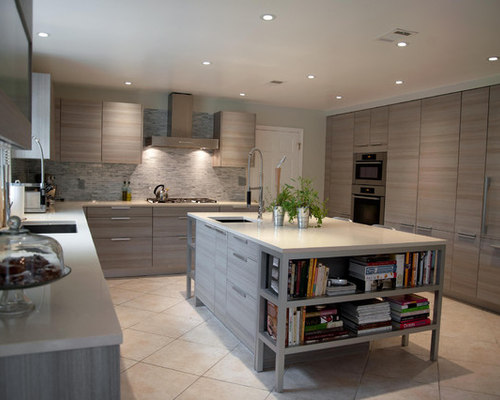 pictures of kitchens with grey cabinets grey tile backsplash houzz 24696