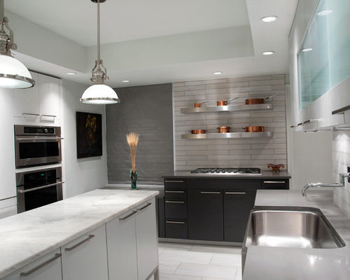 light gray countertop
