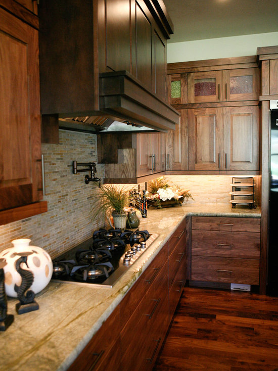SaveEmailBrown And Cream Kitchen   Houzz. Cream And Brown Kitchen Designs. Home Design Ideas