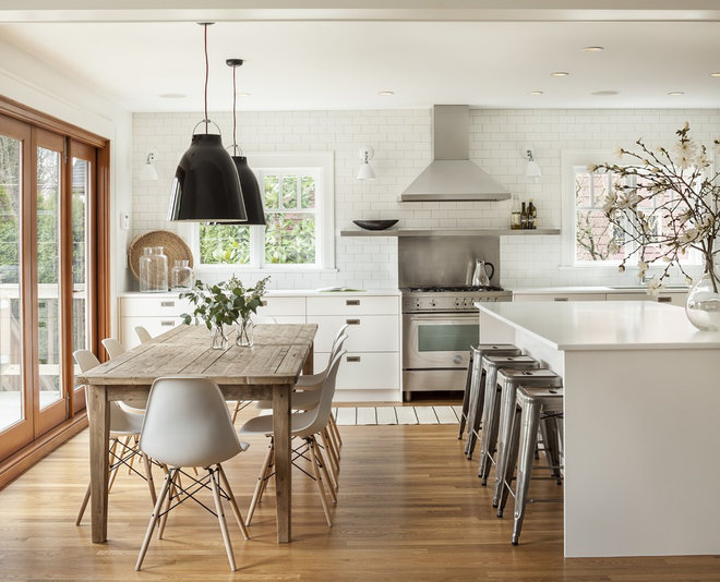Transitional Kitchen by Sophie Burke Design