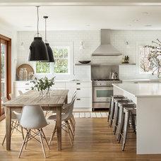Transitional Kitchen by Sophie Burke Design