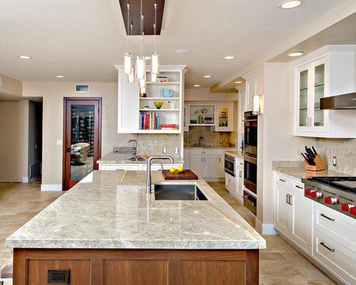 Perla Venato Quartzite Home Design Ideas, Pictures, Remodel and Decor