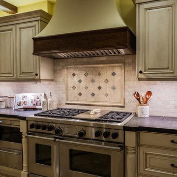 Point Loma, Spanish Style Kitchen, Laundry, Bath & Family Room Remodel