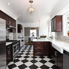 Contemporary Kitchen by The Property Sisters