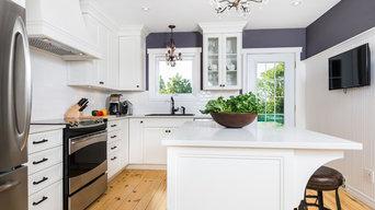 Pointe Claire Cottage Kitchen