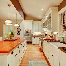Craftsman Kitchen by Kendall Ansell Interiors