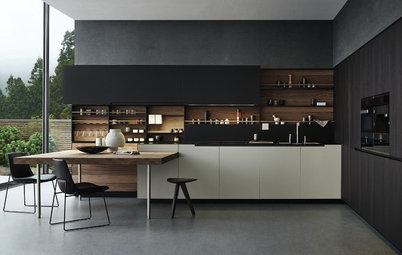 10 More Smashing Black Kitchens