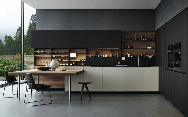 Contemporary Kitchen by Poliform Australia