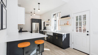 Polished Industrial Kitchen In Seattle