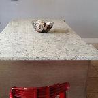 pompeii quartz vanilla ice midcentury dining room miami by pompeii quartz precioustone. Black Bedroom Furniture Sets. Home Design Ideas