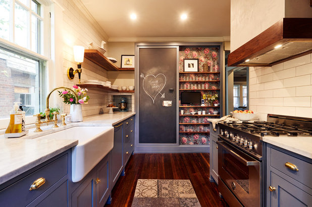 Traditional Kitchen by Urban Purpose Design; Design + Build