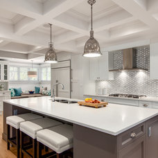 Transitional Kitchen by Space Harmony