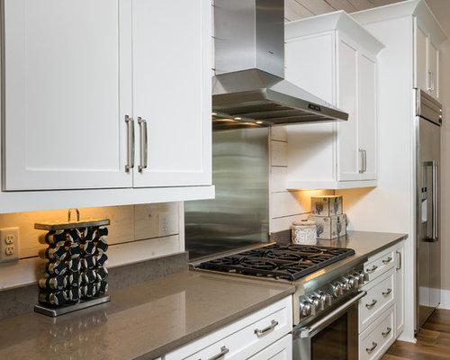 Ideas para cocinas | Fotos de cocinas con salpicadero de madera en ...
