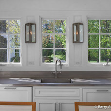 Transitional Kitchen by Sean O'Kane AIA Architect P.C.