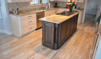 Porcelain Flooring, Traditional Kitchen
