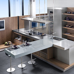 modern kitchen by CheaperFloors