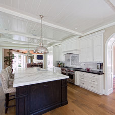 Traditional Kitchen by William Guidero Planning and Design