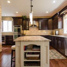 Traditional Kitchen by Genesis Kitchens & Design