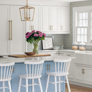 Inspiration for a kitchen remodel in Boston