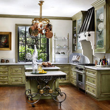 Traditional Kitchen by Bernard Andre Photography
