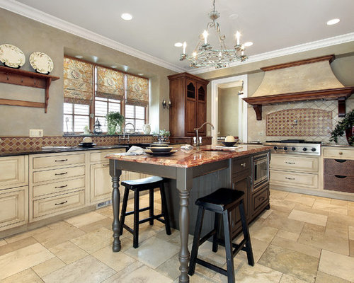 french country kitchen design. traditional enclosed kitchen inspiration - u-shaped idea in san francisco with french country design h
