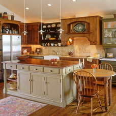 Farmhouse Kitchen by gail owens photography
