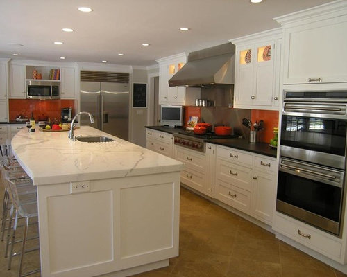 Kitchen design ideas renovations photos with orange - Kitchen cabinets brandon fl ...