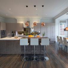 Contemporary Kitchen by Fine Edge Designs