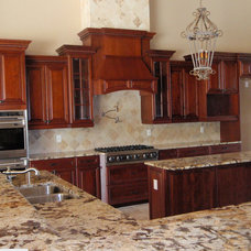 Traditional Kitchen by Londos Fine Cabinetry